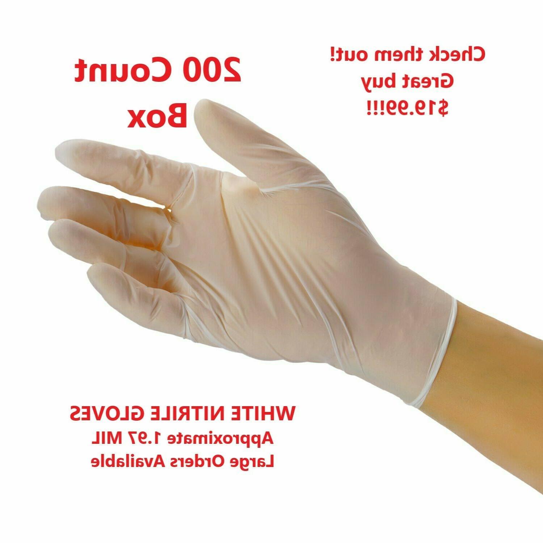 100-piece Gloves, Latex & Powder-Free by Sysco