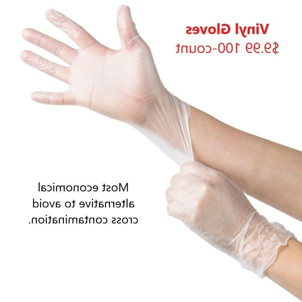 100-piece Gloves, & by Sysco
