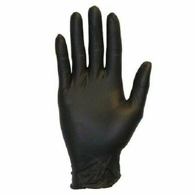 100Pcs Black Free Latex Heavy Durable 2X-large