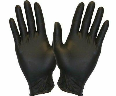 100Pcs Nitrile Powder Free Gloves Latex Heavy Duty