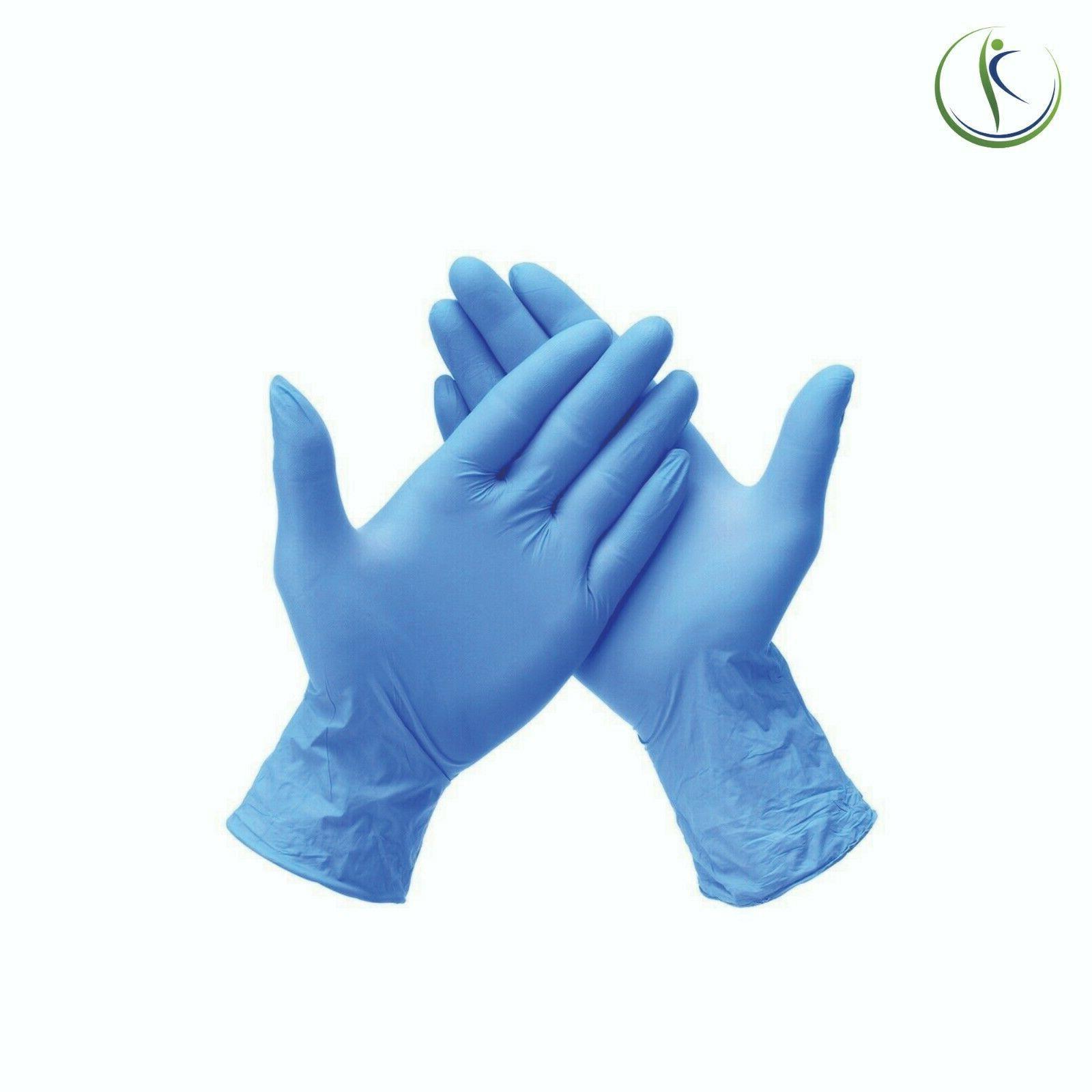 100 Nitrile Medical Examination Disposable Gloves Powder-Fre