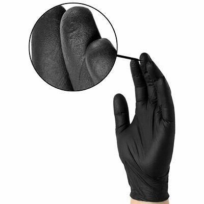 1000/cs AMMEX Disposable Powder-Free - Black
