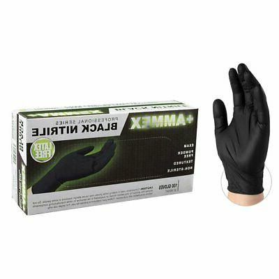 1000/cs AMMEX ABNPF Disposable Gloves Nitrile Powder Free No