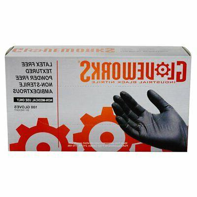 1000/cs Nitrile Disposable Gloves