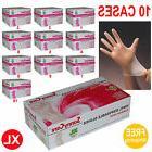 SunnyCare® 10000pcs Vinyl Disposable Gloves Powder Free  XL