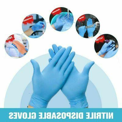 100-1000pcs Nitrile Gloves Latex Free mil Rubber