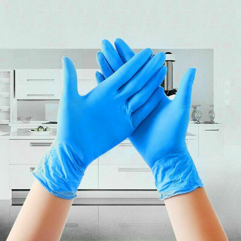 100pc Nitrile Exam Dental Medical Powder Free Industrial
