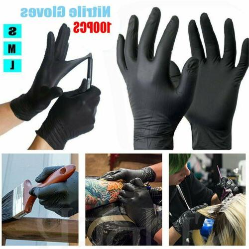 100pc mechanic nitrile gloves disposable tattoo latex