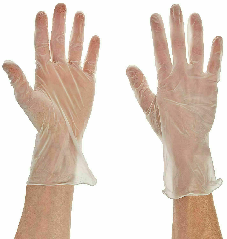 100pcs Diamond Gloves Powder Free Glove Size