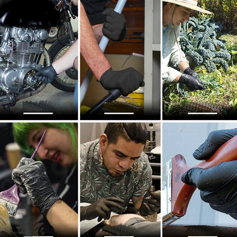 100pcs Gloves Home Kitchen Rubber Garden Gloves