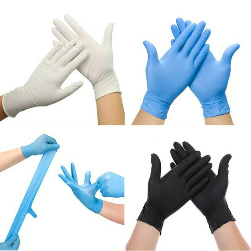 100pcs disposable gloves latex home kitchen cleaning
