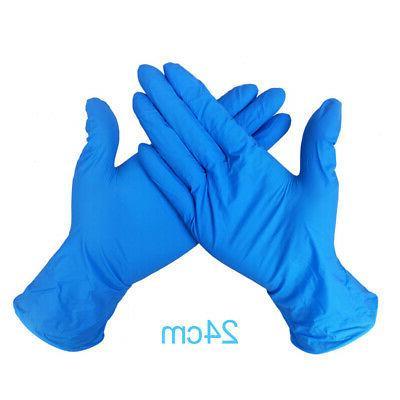 100Pcs Mechanic Nitrile Gloves Medical Exam Je