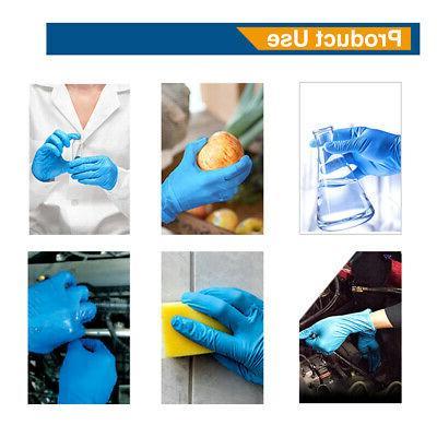 1000x Blue Nitrile Gloves 4.8 Powder Free Size Medium