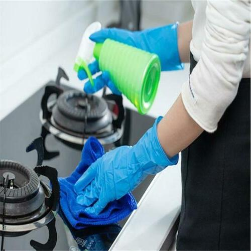 100Pcs Premium Nitrile Rubber Cleaning Free Non Latex