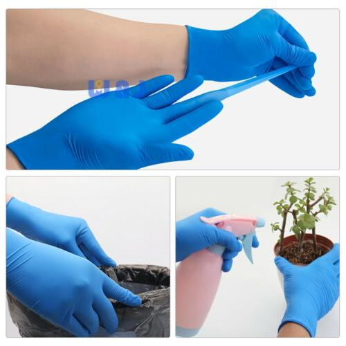 100Pcs Nitrile Rubber Cleaning Gloves Free Non