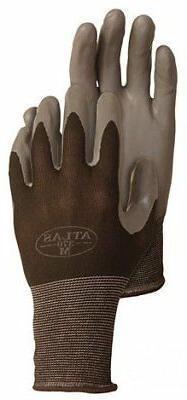 12 pack atlas 370blk nitrile tough gloves