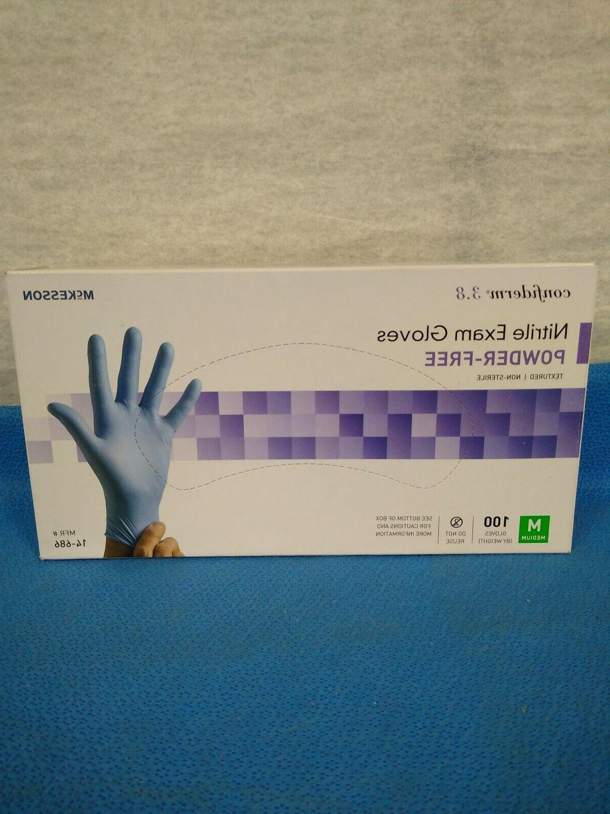 14 686 nitrile exam gloves powder free