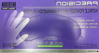 1case. 10boxes. Adenna Precision Nitrile Powder Free  Size S