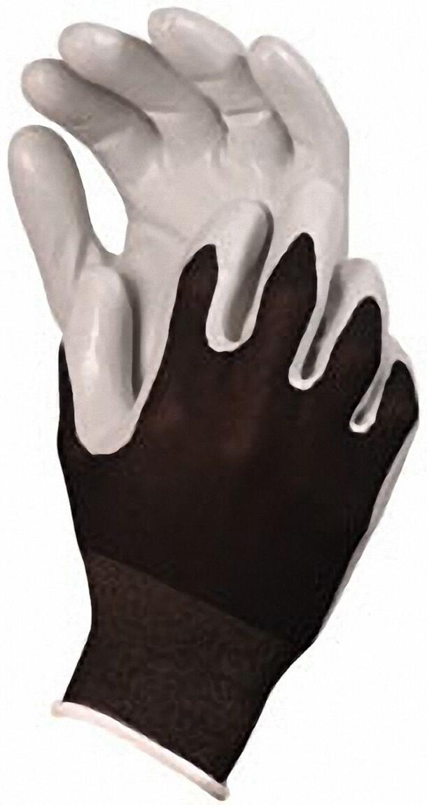 2 pairs 370bk nitrile touch gloves small