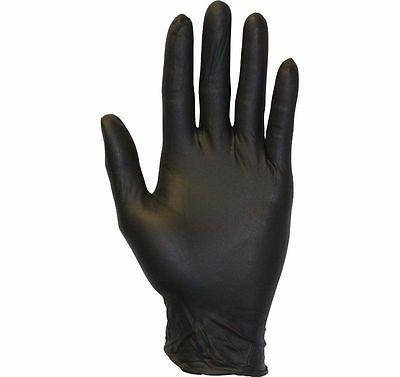 BOX Industrial Glove Nitrile Powder mil LARGE