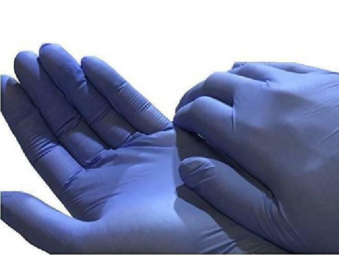 200 Dealmed Nitrile Medical Grade Exam Gloves Latex-Free