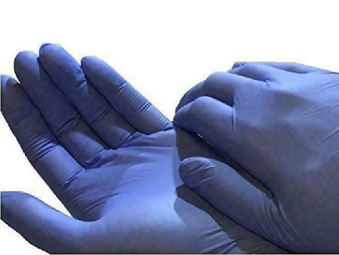200 Brand Nitrile Grade Exam Gloves Disposable Latex-Free