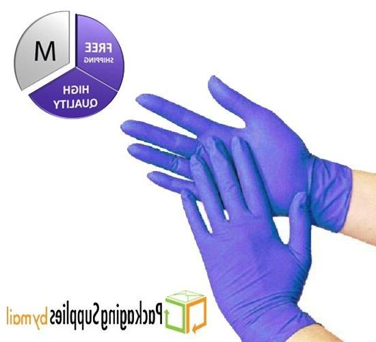 200 Disposable Powder Free Nitrile Medical Economy Exam Glov