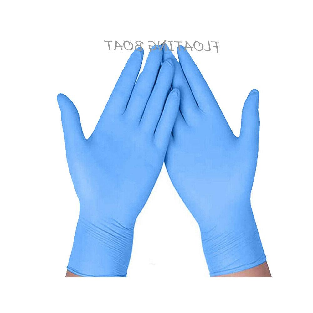 200 pcs disposable gloves medical exam nitrile