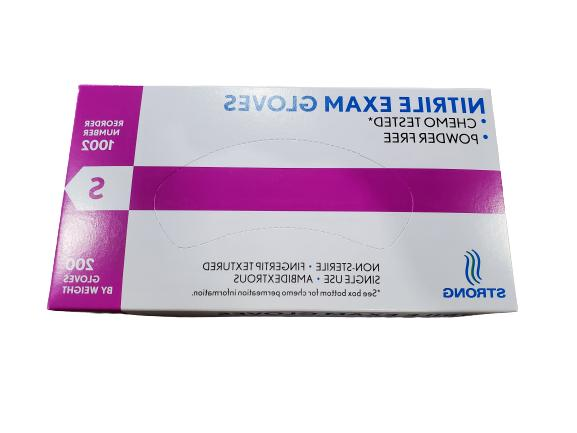 200 per Blue Nitrile Free Small/Medium/Large