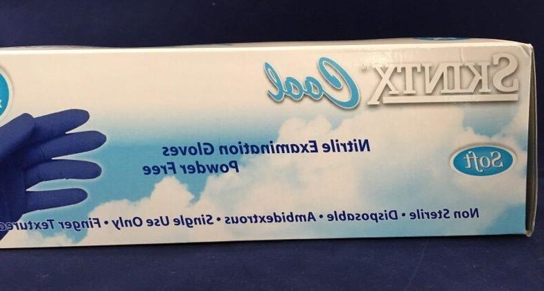 2000 Nitrile Exam Powder Gloves Medium Dental Tattoo