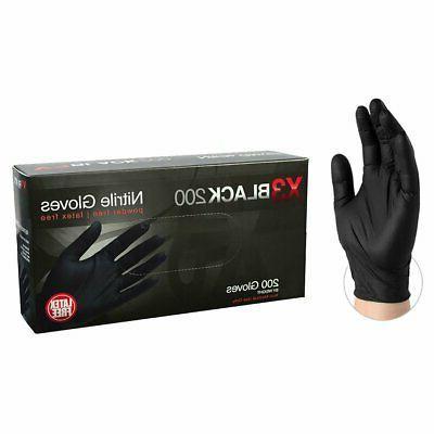 2000/cs AMMEX BX3D Disposable Powder-Free Nitrile Industrial