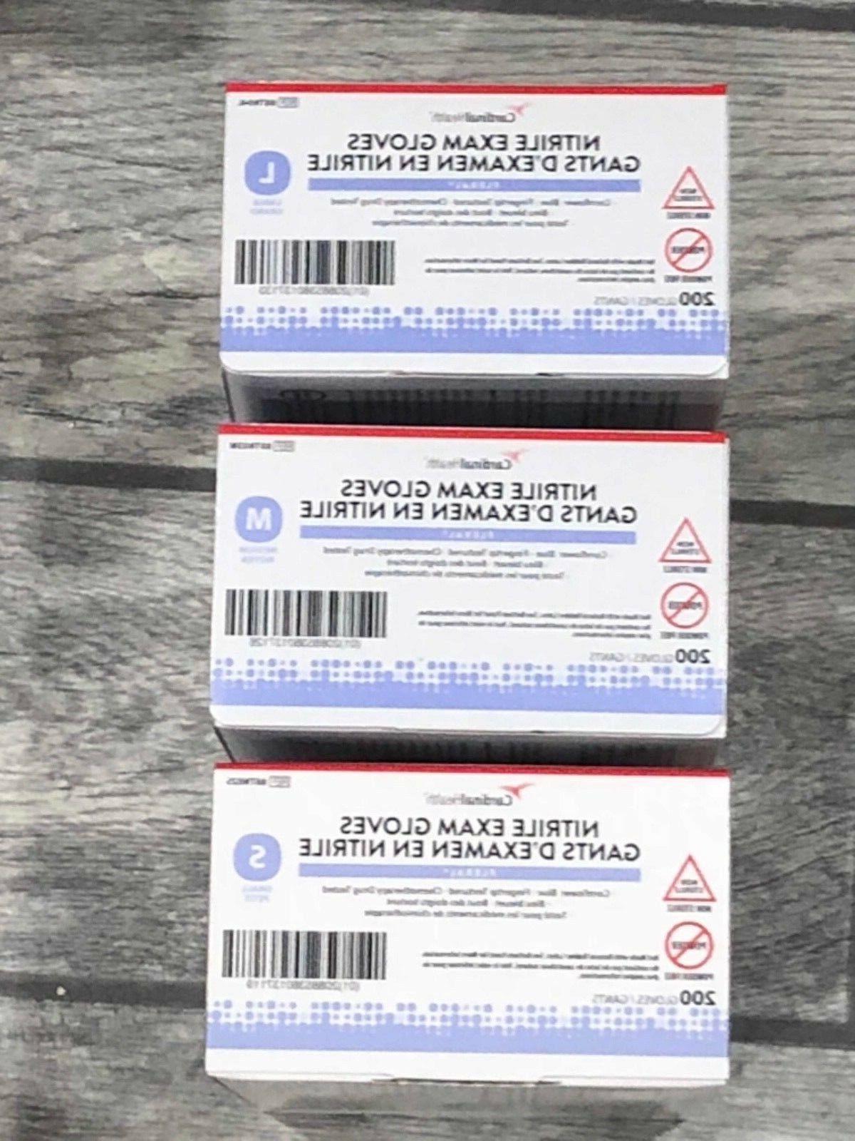 2000 Cardinal Health Nitrile Disposable Exam Gloves Free