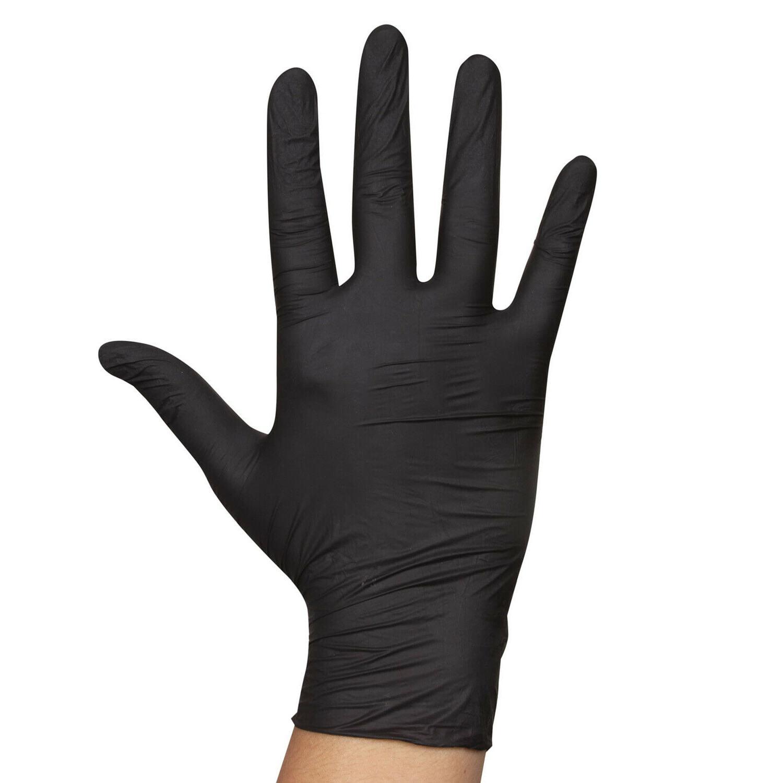 20pc 50pcs 100pcs Nitrile Rubber Gloves /Latex Free XL