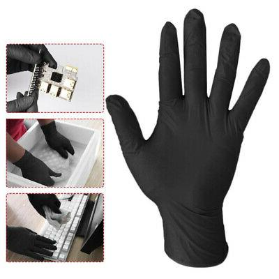 100 Clear NITRILE GLOVES FREE