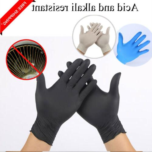 3/20/40 Disposable Mechanic Gloves Black Medical