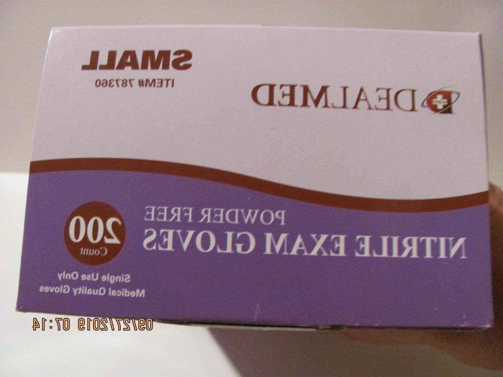 3-Pack Exam Latex-Powder 200ct - Small