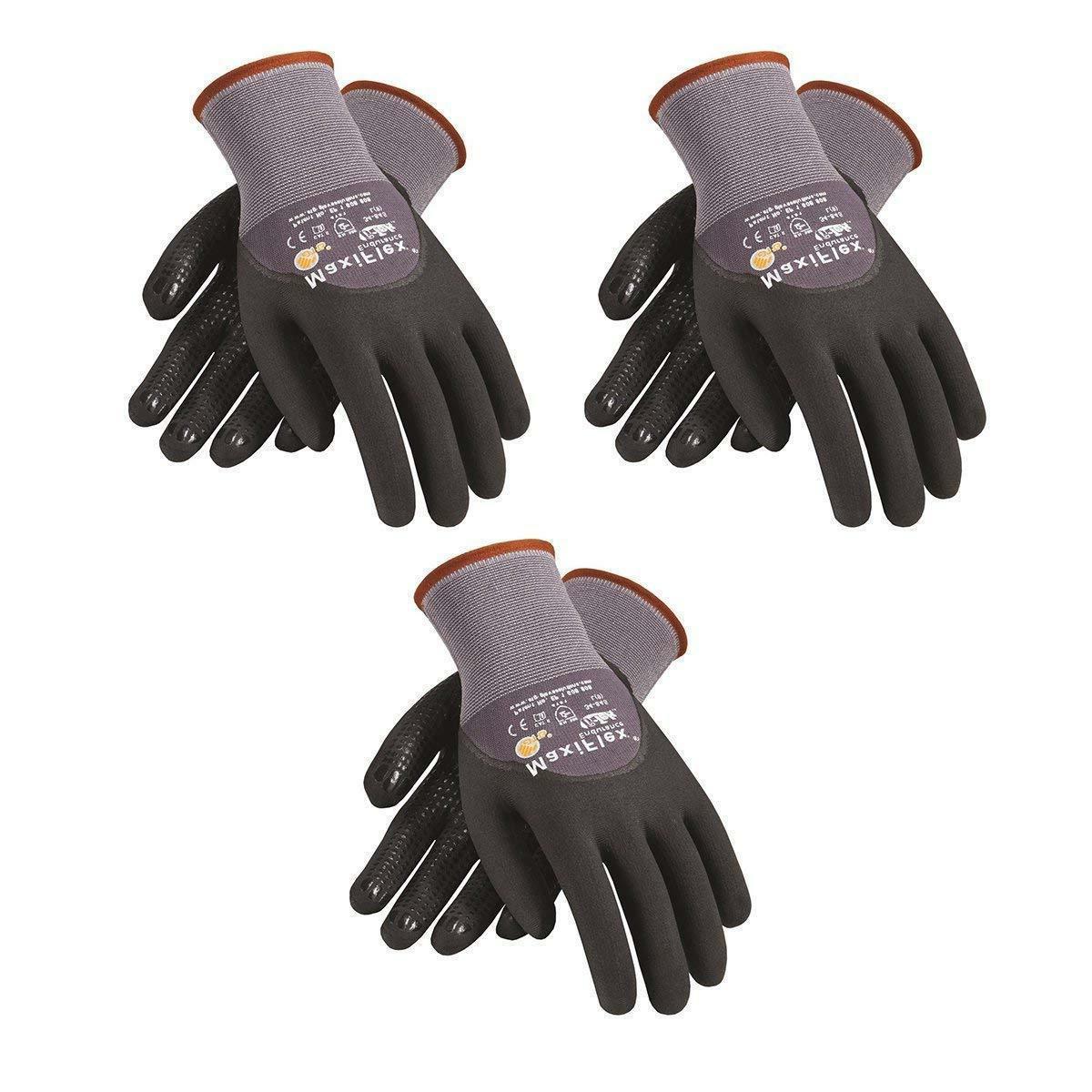 PIP 34-845 MaxiFlex Palms Micro-Foam Gloves Size: