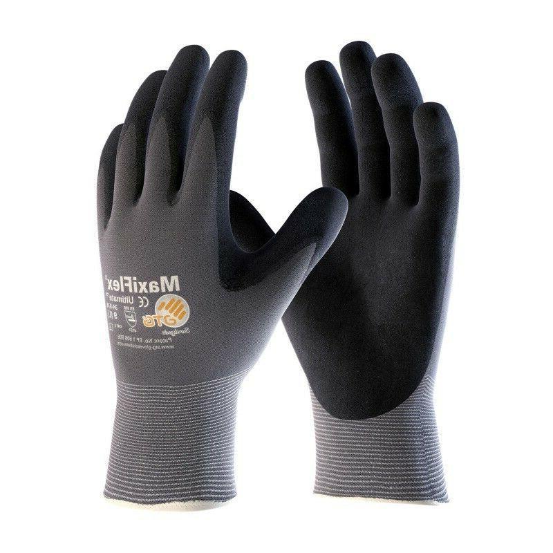 34-874 MaxiFlex Ultimate Nitrile Micro Foam Coated Gloves Si
