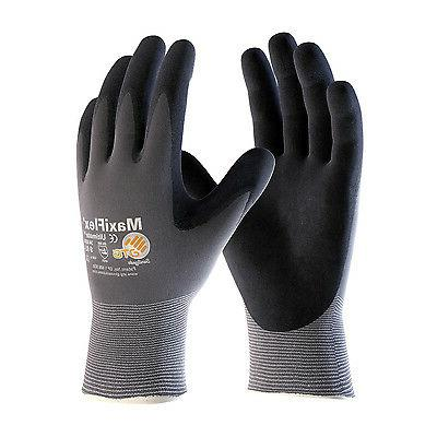 MAXIFLEX ULTIMATE NITRILE MICRO-FOAM COATED PALM, FINGER TIP