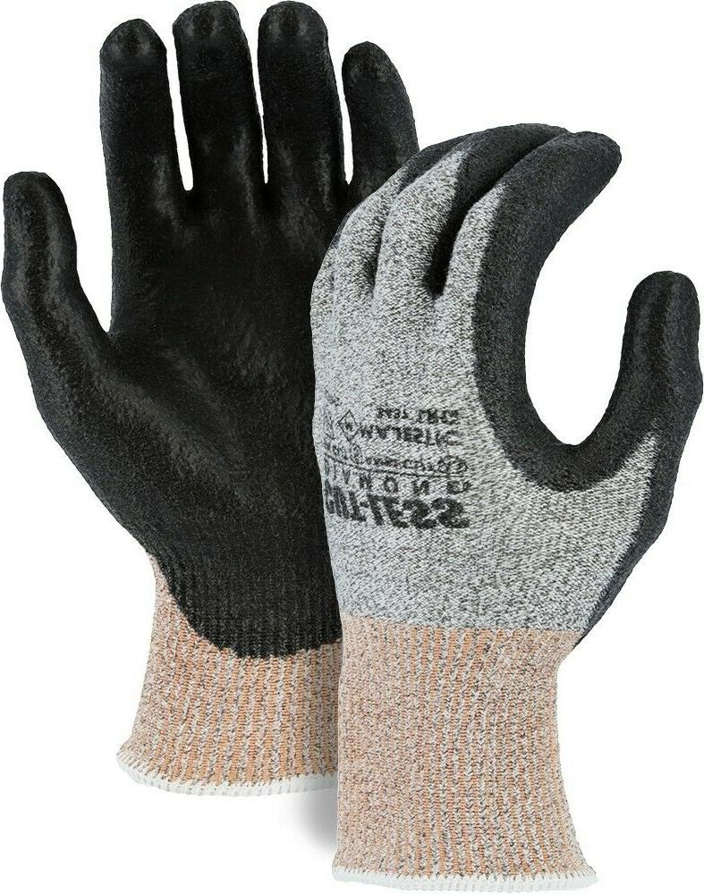 Majestic 3437 Cut-Less Diamond Dyneema Seamless Knit PU Palm