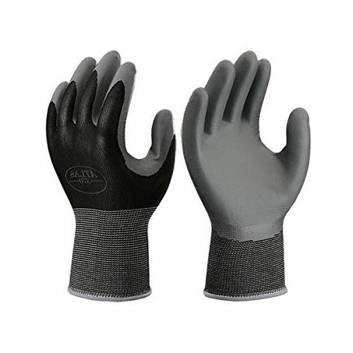 370BBK Atlas Nitrile Tough Gloves Medium