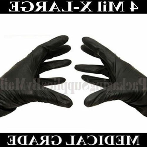4 Medical Gloves for Sizes: M, L, & 2XL