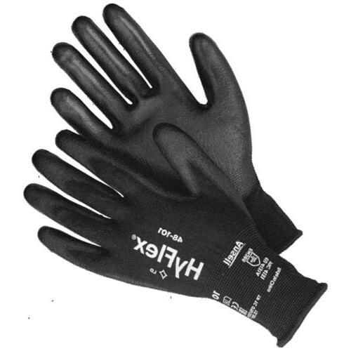 4 Ansell 48-101 Foam Nitrile Size