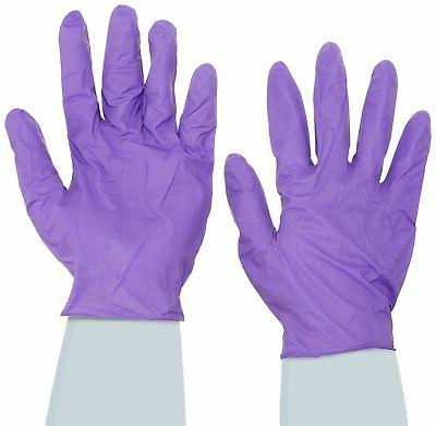 Halyard Health 55084 X-Large Purple Nitrile Exam Gloves Box
