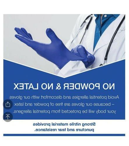 6 mil Nitrile Gloves 100 pcs MEDIUM Youth Trust