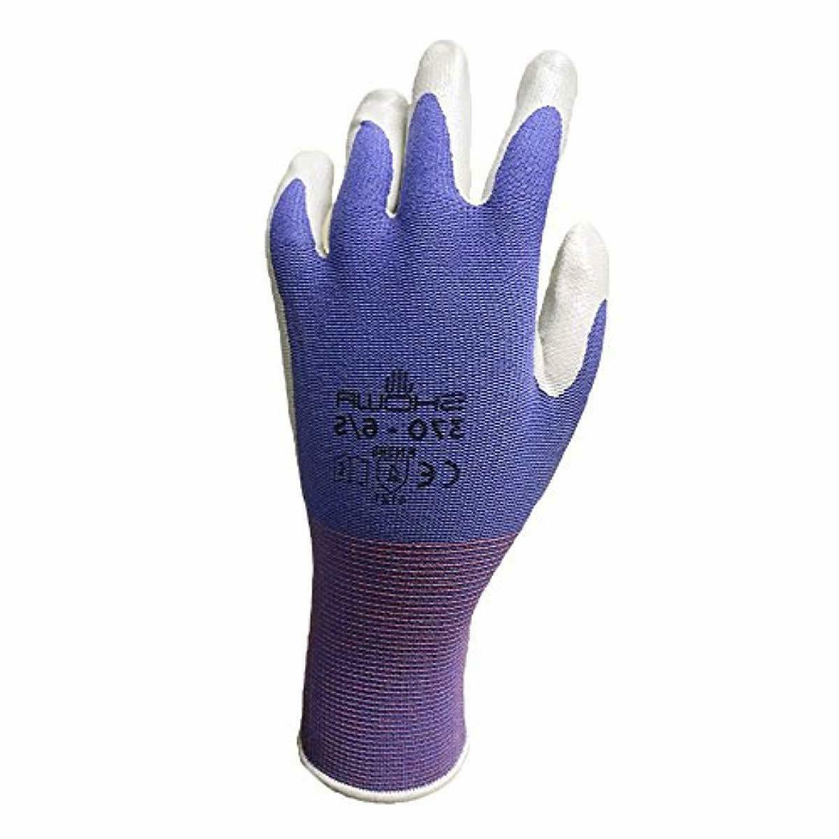 6 Pack Showa NT370 Atlas Garden Gloves -