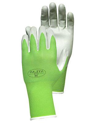 6 Pairs Atlas Showa 370 Nitrile Gloves SMALL Garden Landscaping
