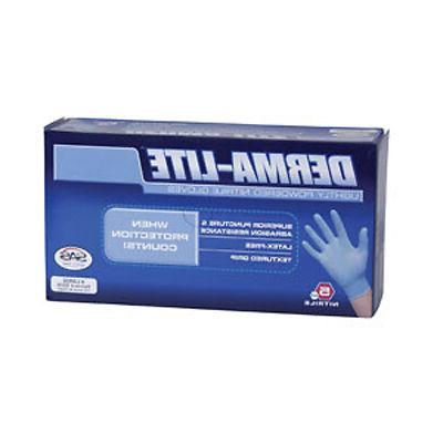 6609 derma lite disposable nitrile gloves x