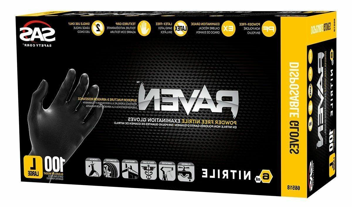 SAS 6mil Gloves-Large-10