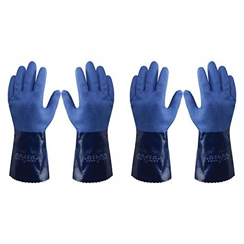 Atlas Chemical Gloves, 24-Pairs